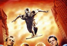 Affiche Poster 4 fantastiques four fantastic surfer argent silver rise disney fox marvel