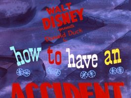 Affiche Poster accident vite arrive work disney donald