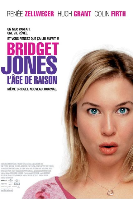 Affiche Poster bridget jones âge edge raison reason disney miramax