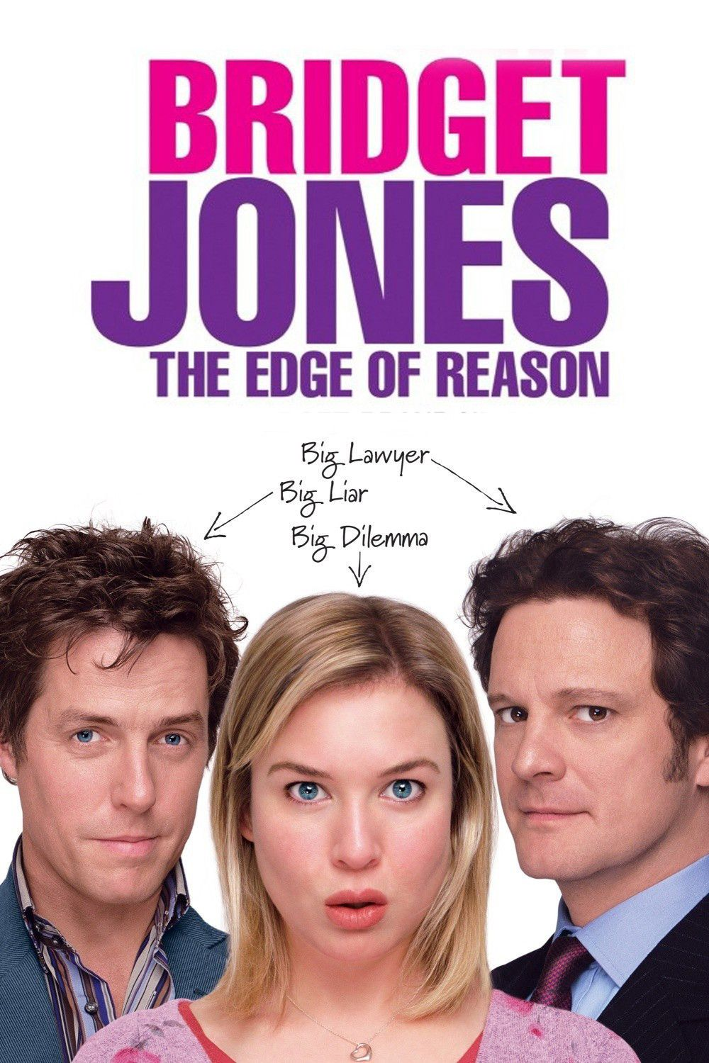 Affiche Poster bridget jones âge edge raison reason disney miramax