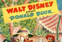Affiche Poster clown jungle donald disney