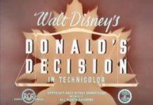 Affiche Poster donald decision disney