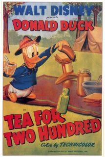 Affiche Poster donald fourmi tea two hundred disney