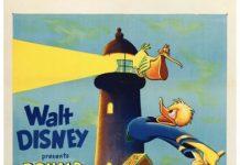 Affiche Poster donald gardien phare lightouse keeping disney