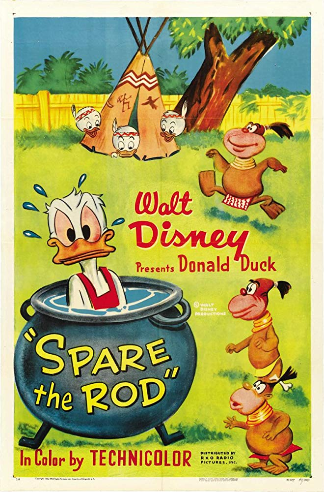 Affiche Poster donald pygmées cannibales spare rod disney