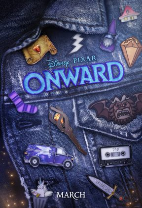 Affiche Poster en avant onward disney pixar