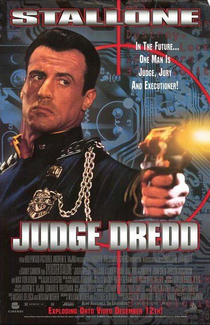 Affiche Poster judge dredd disney hollywood