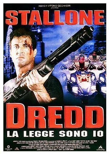 Affiche Poster judge dredd disney hollywood