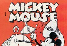 Affiche Poster mickey théâtre revue disney