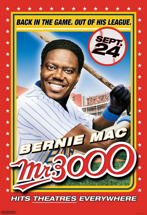 Affiche Poster mr 3000 disney touchstone dimension