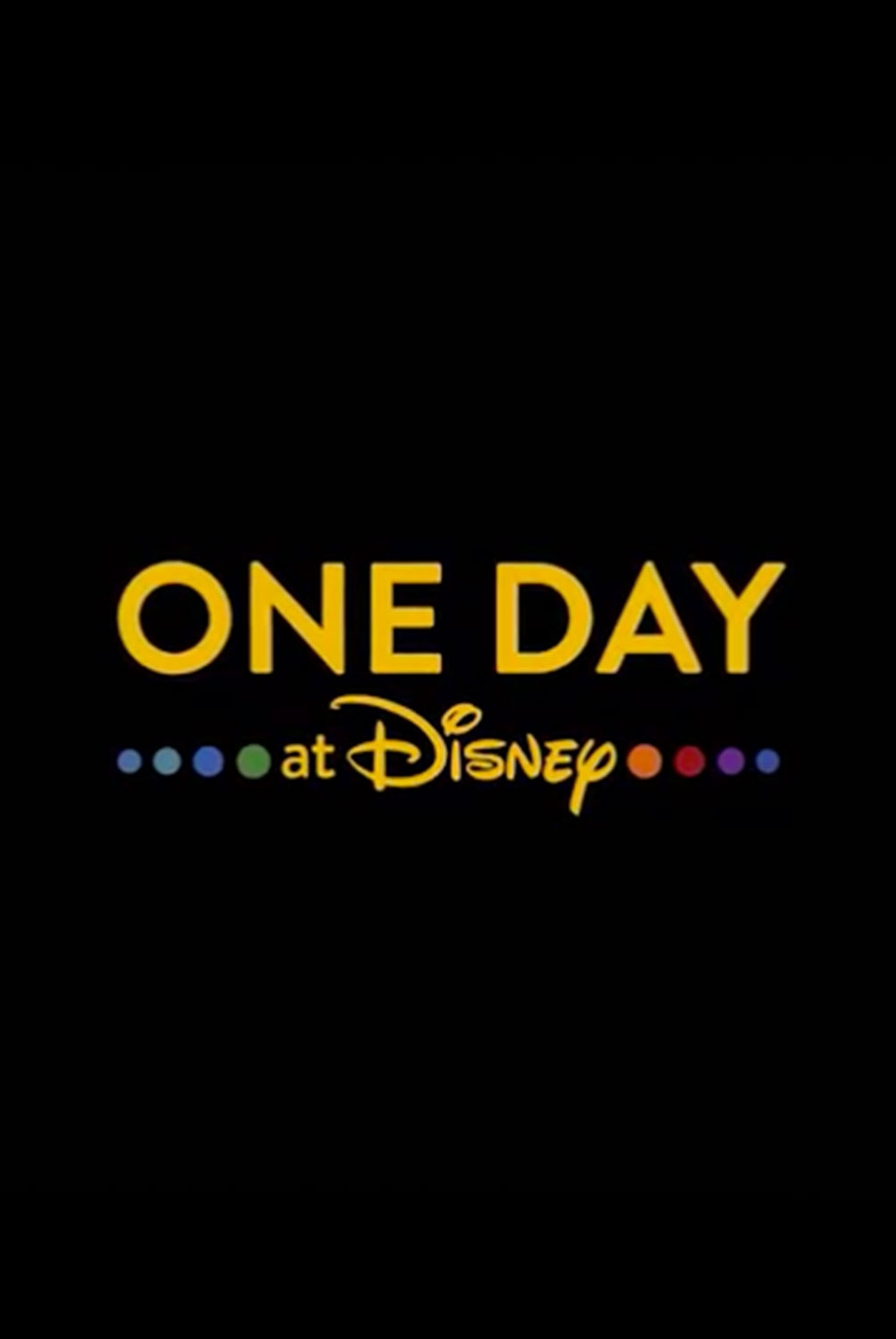 Affiche Poster one day disney +