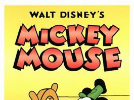Affiche Poster steamboat willie disney mickey