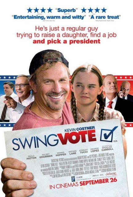 Affiche Poster swing vote voix coeur disney touchstone