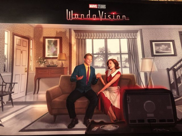 Affiche Poster wandavision disney + marvel