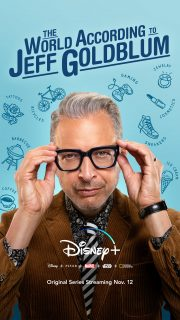 Affiche Poster world according jeff goldblum disney+
