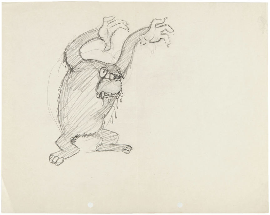 Artwork gare gorille gorilla mystery disney mickey