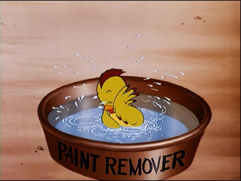 Image peinture fraîche donald wet paint disney