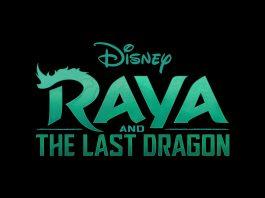 logo raya last dragon disney