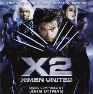 bande originale soundtrack ost score x-men 2 united disney fox marvel