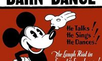 Affiche Poster bal campagne barn dance disney mickey