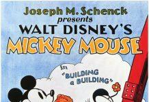 Affiche Poster batissons building mickey disney