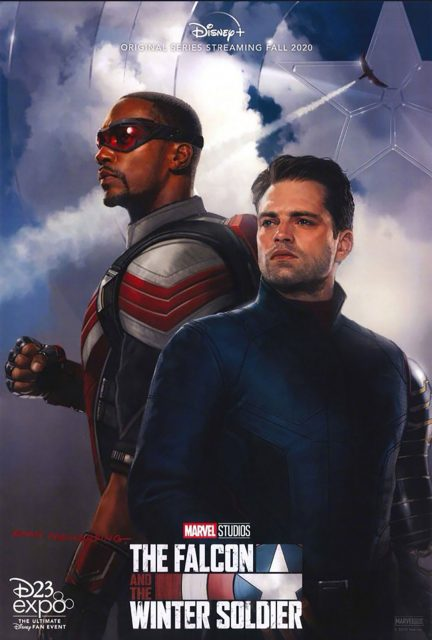Affiche Poster falcon winter soldier disney+ marvel