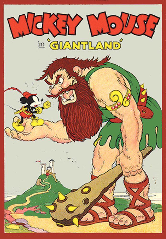 Affiche Poster giantland disney mickey