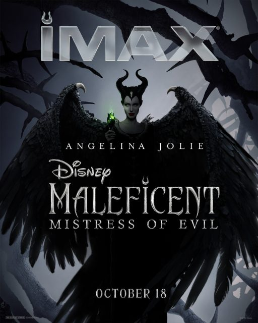 Affiche Poster maléfique 2 maleficent pouvoir mal mistress evil disney