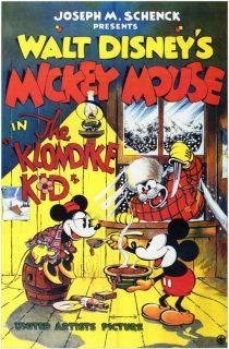 Affiche Poster mickey grand nord klondike kid disney