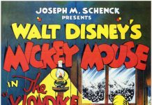 Affiche Poster mickey grand nord klondike kid disney
