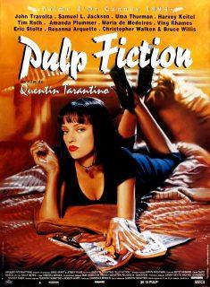 Affiche Poster pulp fiction disney miramax