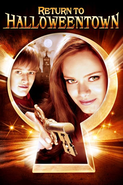 Affiche Poster sorcieres halloween return halloweentown disney channel