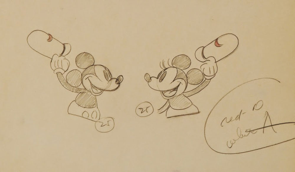 Artwork whoopee party mickey disney