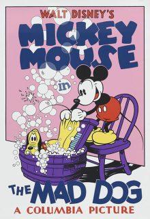 Affiche Poster chien enragé mad dog mickey disney