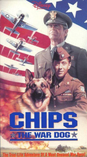 Affiche Poster chips chien combat war dog disney channel