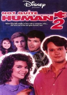 Affiche Poster electronic junior 2 not quite human disney channel