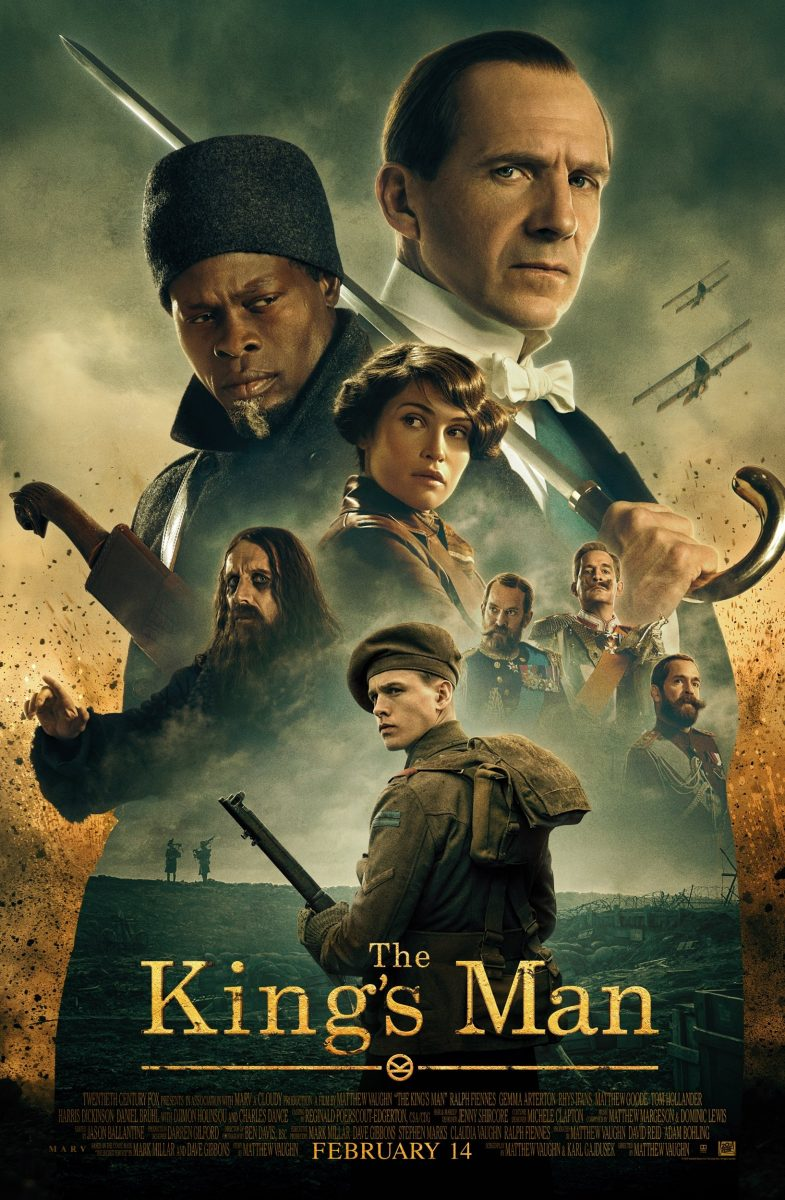 Affiche Poster king man premiere first mission disney fox