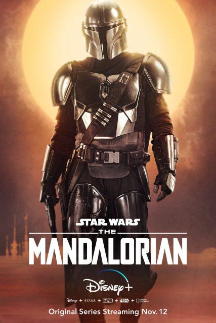 Affiche Psoter mandalorian star wars lucasfilm disney