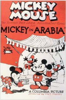 Affiche Poster mickey arabia disney