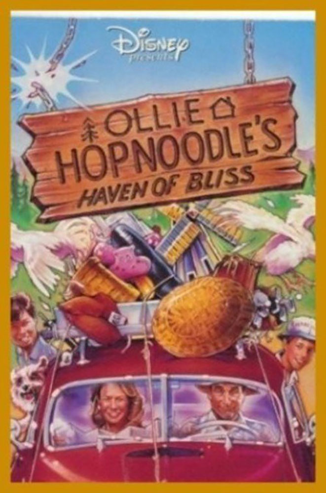 Affiche Poster Ollie Hopnoodle Haven Bliss disney channel
