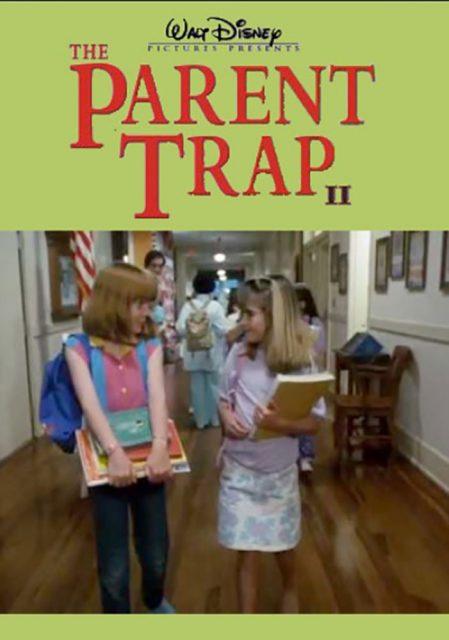 Affiche Poster papa épouse maman parent trap 2 disney channel