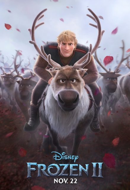 Affiche Poster reine neiges frozen 2 disney