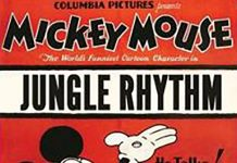 Affiche Poster rythme jungle rhythm mickey disney