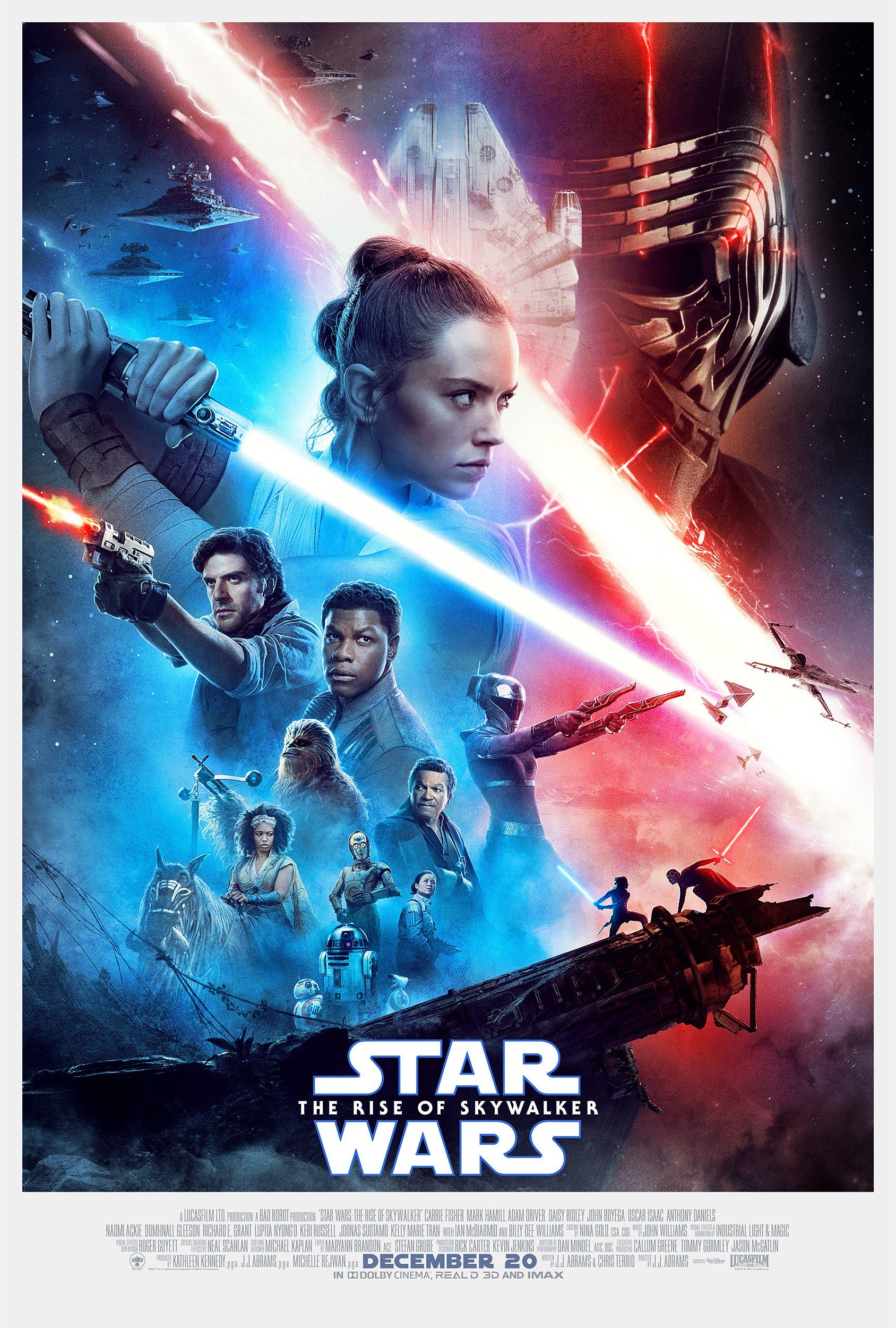 Affiche Poster star wars ascension rise skywalker disney lucasfilm