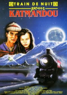 Affiche Poster train katmandou night kathmandu disney channel