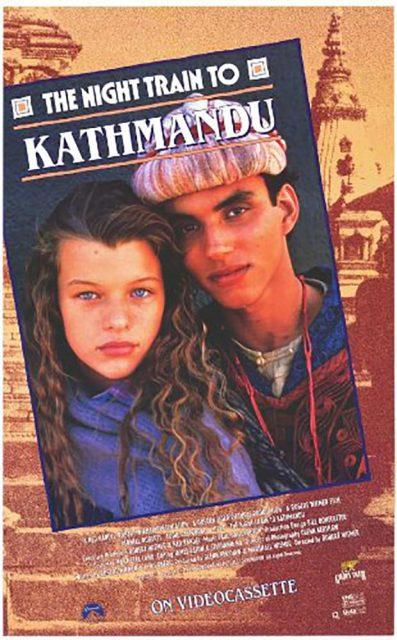Affiche Poster train katmandou night kathmandu disney channel