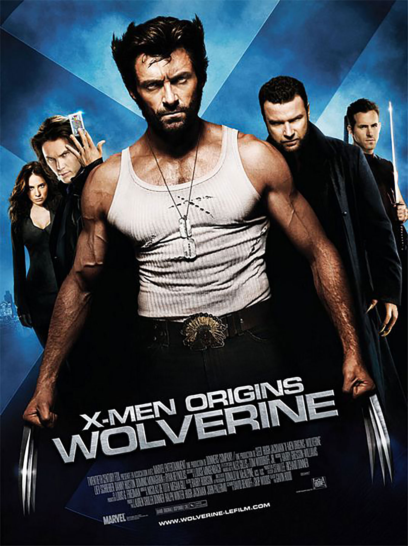 Affiche Poster x-men origins wolverine disney marvel fox