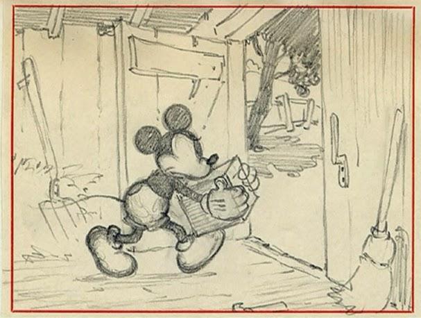 Artwork diffusion maison barnyard broadcast disney mickey