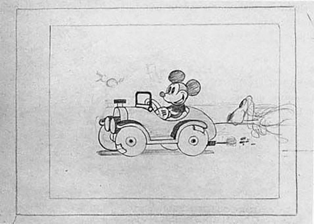 artwork pique-nique picnic mickey disney