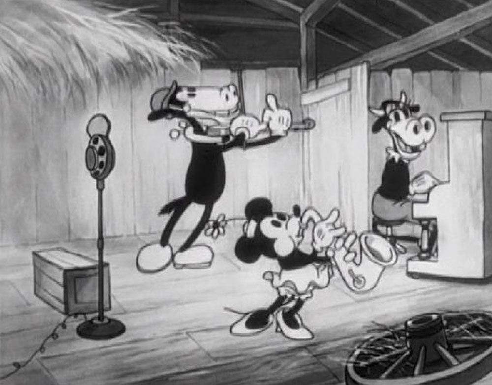 Image diffusion maison barnyard broadcast disney mickey
